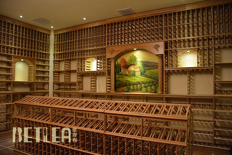 某集团公司300㎡大型整体酒窖项目