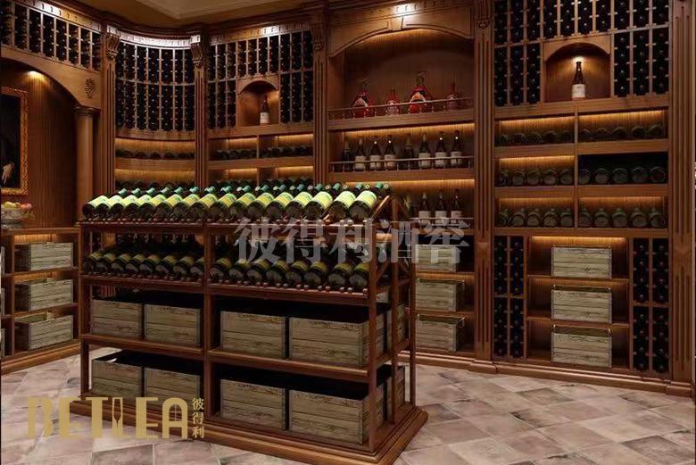 广州雅居乐整体酒窖效果图