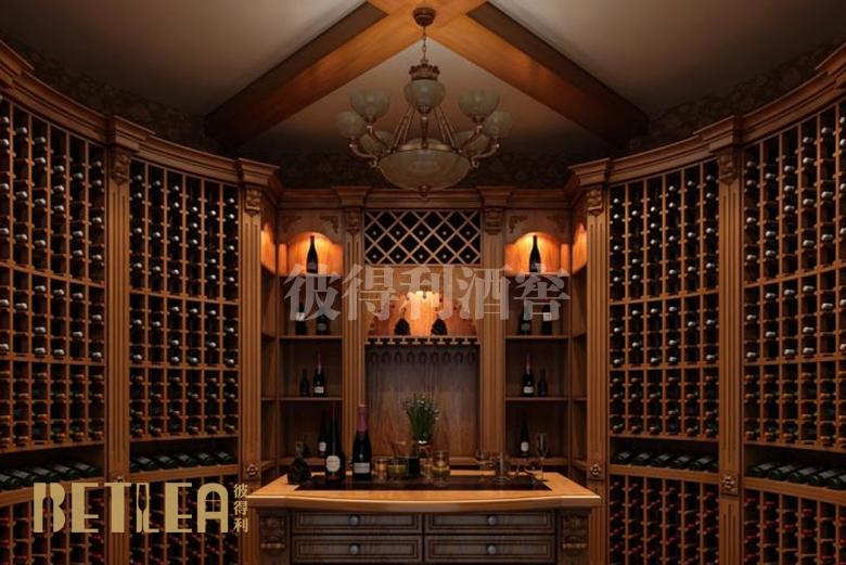 广州二沙岛整体酒窖