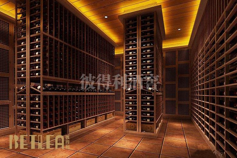 武汉某集团会所酒窖