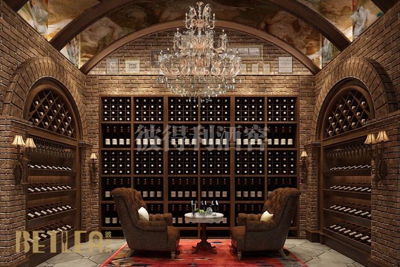 河南郑州某公司会所整体酒窖