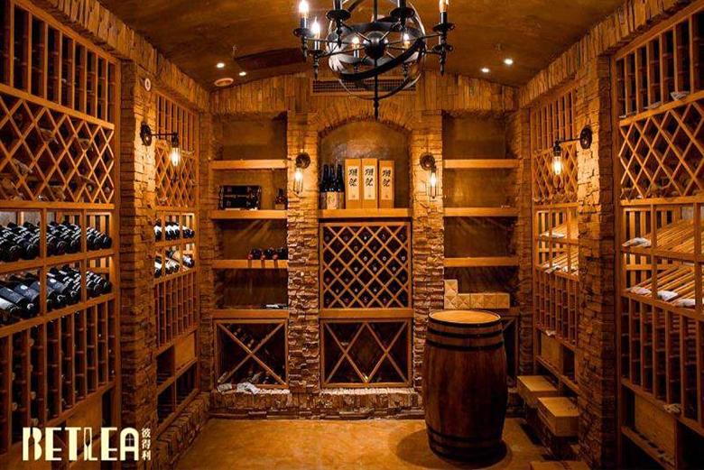 北京欧式古典风格地下恒温恒湿整体酒窖