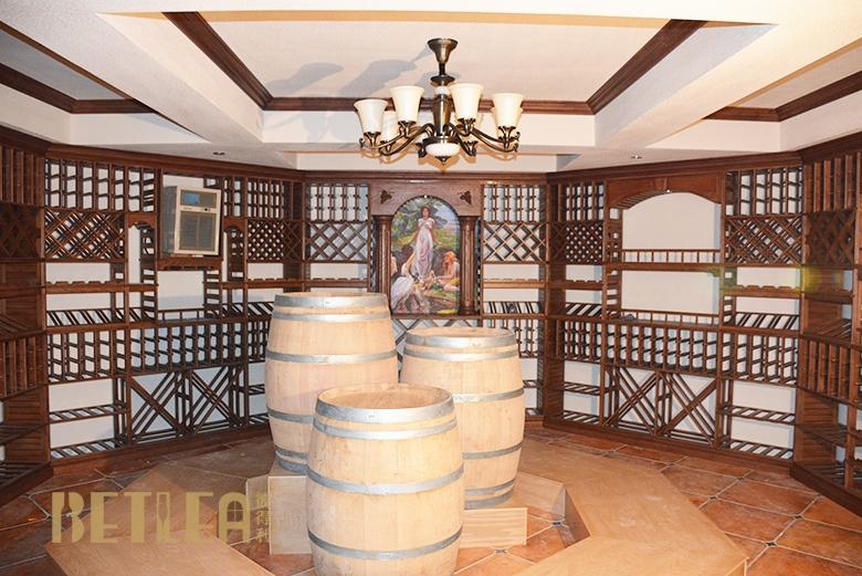 武汉藏龙岛别墅整体酒窖设计定制
