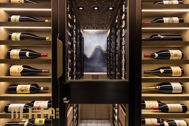 珠海马先生私家整体酒窖设计定制