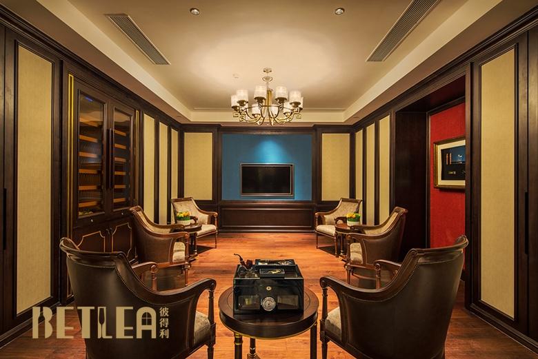 云南大理国际大酒店定制雪茄柜