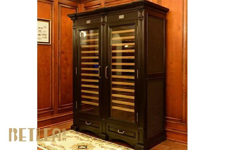 实木定制恒温酒柜