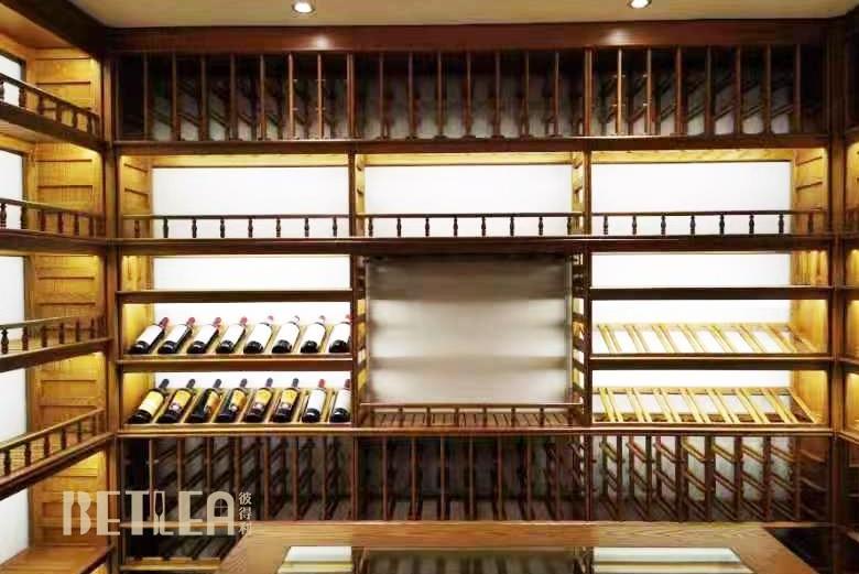 湖北天门东湖国际私人别墅整体酒窖